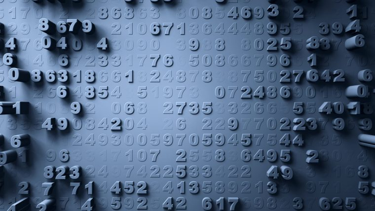 Cryptography from the Afterglow of the Big Bang