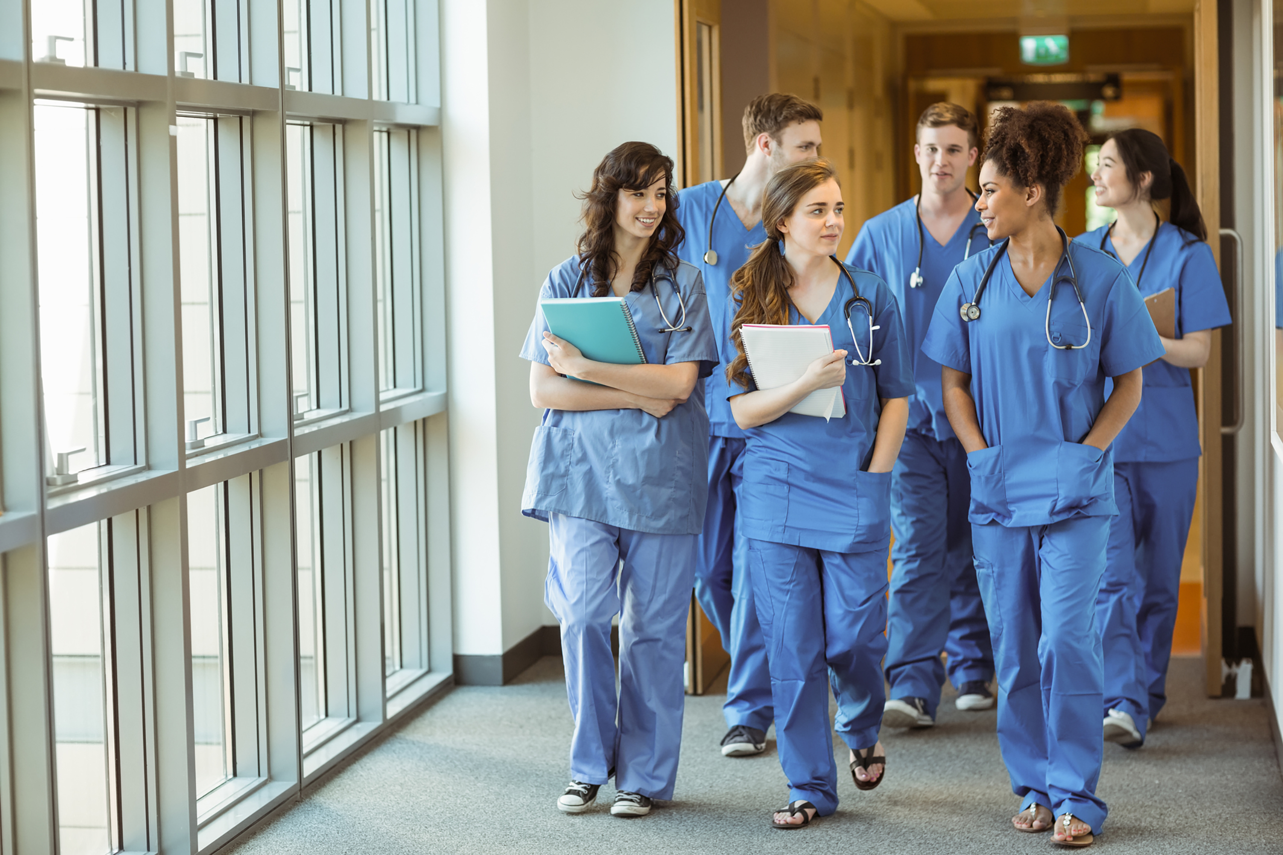 Secure Message Encryption for Large Healthcare Networks