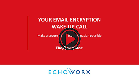 Video screenshot of Your Email Encryption Wake-Up Call with play button
