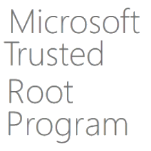 Microsoft Trusted Root Program