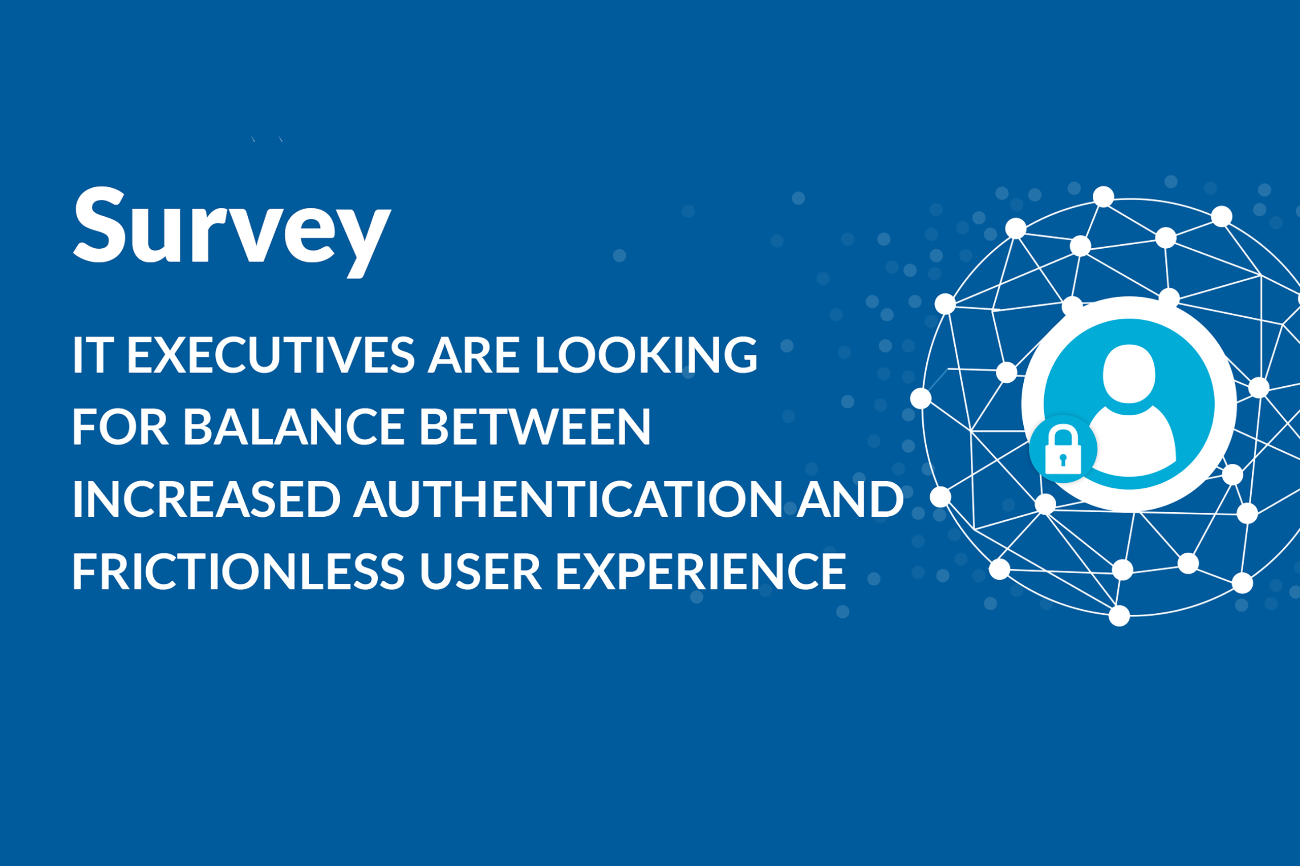 Survey IT Executives Seek Increased Authentication and Frictionless User Experience